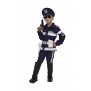 Poliziotto costume 3/4 anni