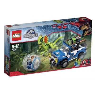 75916 Lego Jurassic world l'agguato del dilofosauro