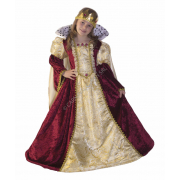 Queen Isabel costume 7/8 anni