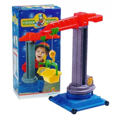 Gru da cantiere giocattolo cm. 54