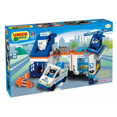 Unico plus costruzioni Stazione Polizia 2-5 anni