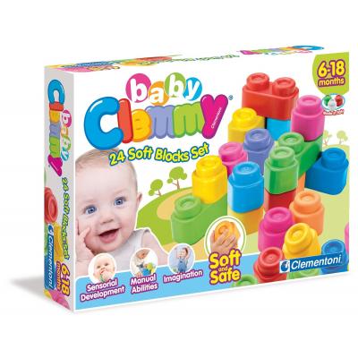 Clemmy 24 soft blocks