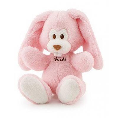 Coniglio Cremino rosa cm. 26 Trudi