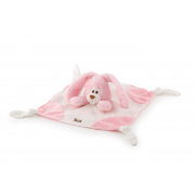 Doudou Cremino Coniglio rosa cm. 26 Trudi