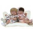 Bambola Recién nacido con cuscino cm. 37