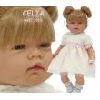 Bambola Celia bionda o mora cm. 45