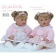 Bambola Claudia profumata cm. 55