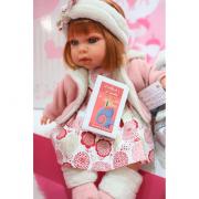 Bambola Antonio Juan - Qualsiasi fascia rosa 37 cm