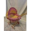 Carrozzina in vimini per bambole Bayer chic 2000