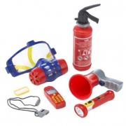 Set Pompiere giocattolo 7 pezzi
