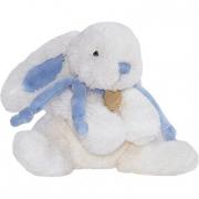 Coniglio con fiocco blu cm. 30 Dou Dou et Compagnie