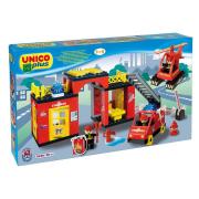 Stazione Pompieri Unico plus costruzioni