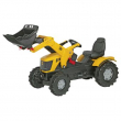 611003 RollyFarmtrac JCB 8250 con ruspa Rolly Toys