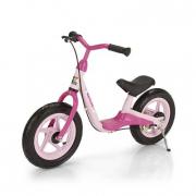 Bici pedagogica due ruote rosa
