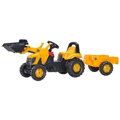 023837 RollyKid JCB con rimorchio e ruspa Rolly Toys