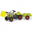 023905 Claas con rimorchio e ruspa Rolly Toys
