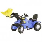 046713 New Holland TD 5050 con ruspa Rolly Toys