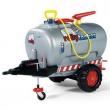 Serbatoio RollyTanker con pompa 1 asse grigio metal. Rolly Toys
