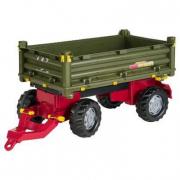 Rimorchio RollyMulti Trailer verde ribaltabile 3 lati Rolly Toys