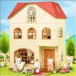 Casa a tre piani con terrazzo Sylvanian Families