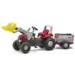 811397 RT con ruspa e rimorchio Rolly Toys