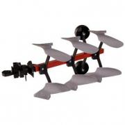 Aratro RollyPflug Rabe Werk Rosso Rolly Toys