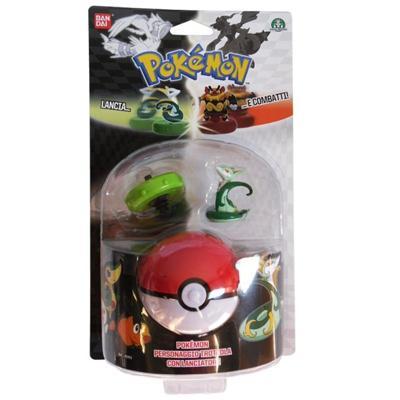 Pokémon personaggio trottola con lanciatore ASS. 6