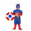 Costume Capitan America 3/4 anni