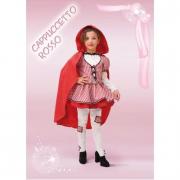 Costume Cappuccetto Rosso tg. 9/10 anni