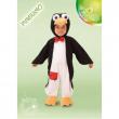 Costume Pinguino Baby tg. 1/2 anni