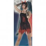 Costume Sexy Devil taglia Unica