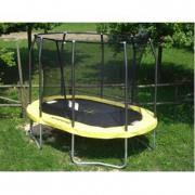 Trampolino elastico ovale OVALPOD cm. 520 x 430 cm portata kg 156