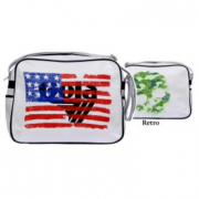 Borsa Gola Redford Extra Usa White/Black