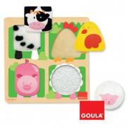 Puzzle Pelle Animali Goula
