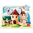 Puzzle Castello 16 pezzi Goula