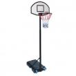 BasketBall con ruote regolabile da 150 a 210 cm