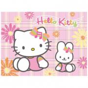 """Puzzle """"Hello Kitty - In giardino"""" 100 pezzi"""
