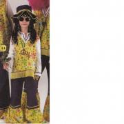 Costume Hippy 9/10 anni