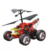 Air Hogs Hover Assault R/C 4 in 1 rosso