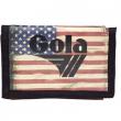Portafoglio Gola Big Coppola Heritage USA D.Red/Black