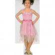 Costume Ballerina rosa 6/8 anni