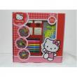 Timbrini Hello Kitty con colori