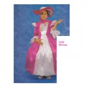 Costume Lady Miriam 6/8 anni