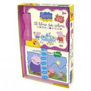 Peppa Pig Il libro dei colori con mini puzzle