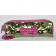 Portamatite Fucsia Green Hello Kitty