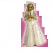 Costume Principessa Dorata 5/6 anni