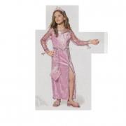 Costume Principessa Rosa 6/7 anni