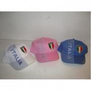 Cappellino Italia 3 colori