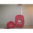 Trolley Rosso Hello Kitty + Beauty da viaggio Rosso