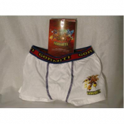 Boxer Gormiti bianco 1 pezzo taglia 6 anni